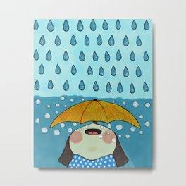 Rainy Day Metal Print