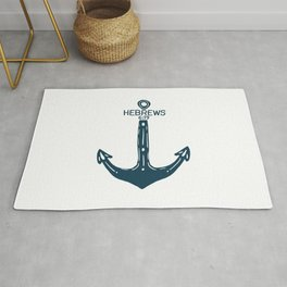 Hebrews Anchor Rug
