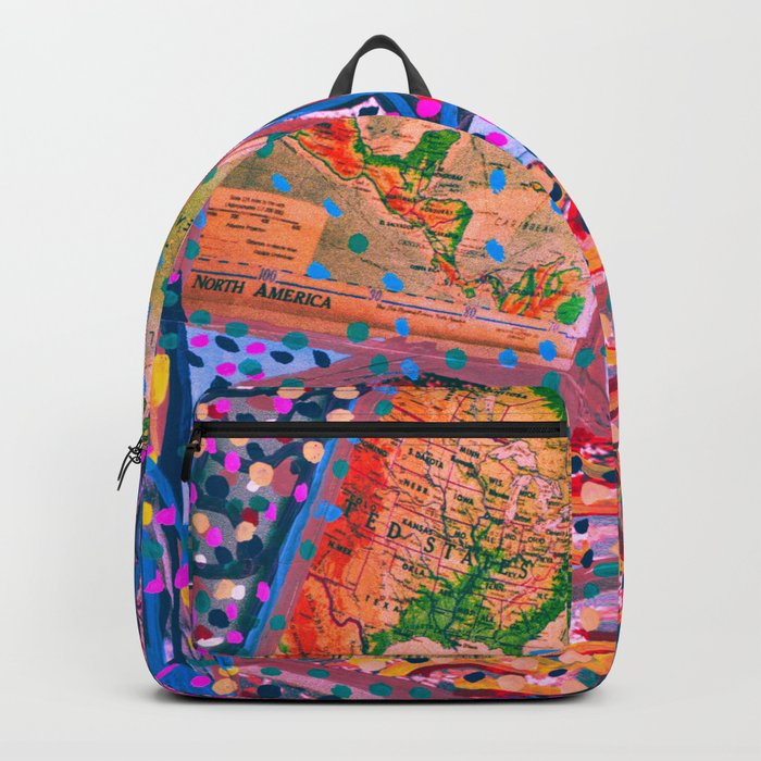 Map your dreams Backpack