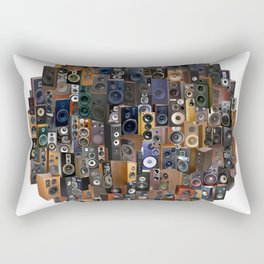WOOFERS AND TWEETERS! Rectangular Pillow