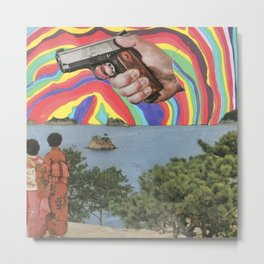 Foreign Threat Metal Print
