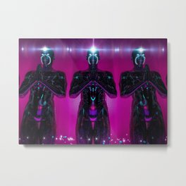 TELEKINESIS Metal Print