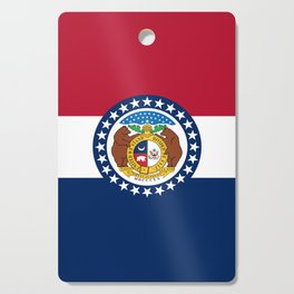 Missouri State Flag Cutting Board