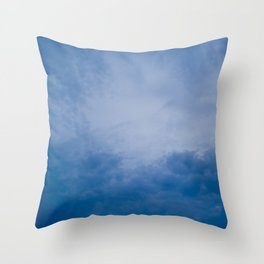 Nice Blue in the Sky Throw Pillow