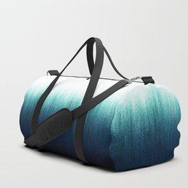 Teal Ombré Duffle Bag