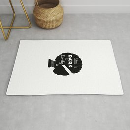 Dark and Lovely With Scripture Rug