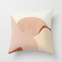 Strange Landscape II Throw Pillow