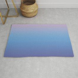Ombre Pink Blue Ultra Violet Gradient Pattern Rug