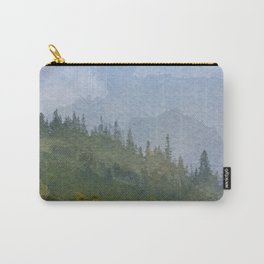 Endless Verdant Pine Hills Carry-All Pouch