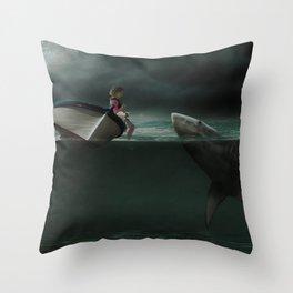 Unusual Friend Throw Pillow