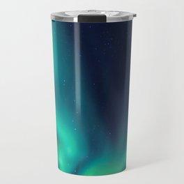 Aurora Borealis Lights Up the Sky (Northern Lights) Travel Mug