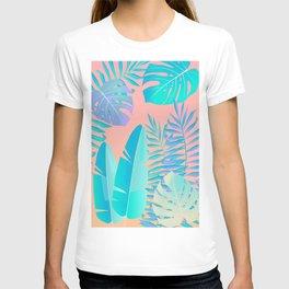 Tropics ( monstera and banana leaf pattern ) T-shirt