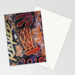 raptors 4,champion,basketball,gold,poster,wall art,2019,winners,NBA,finals,toronto,canada,painting Stationery Cards
