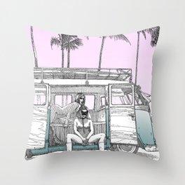 asc 691 -  Book cover for La Musardine Throw Pillow