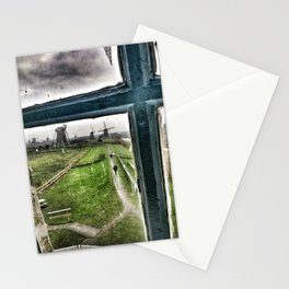 View from a Windmill Stationery Cards