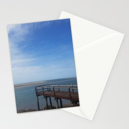Calmness of the sea Stationery Cards