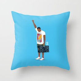 Radio Raheem Throw Pillow