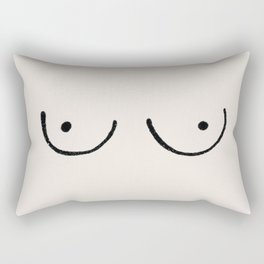 Boobs Rectangular Pillow