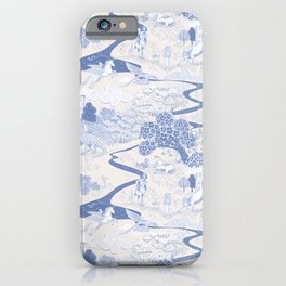 Mythical Creatures Toile iPhone Case