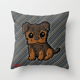 Troy - Silky Terrier Throw Pillow