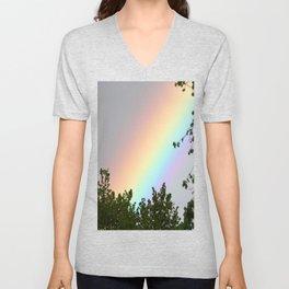 Pastel Natural Rainbow Unisex V-Neck