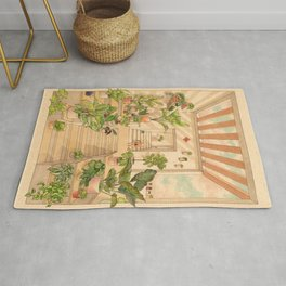 Houseplants Rug