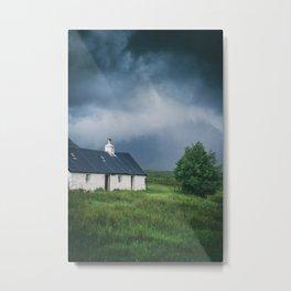 Cottage in Glencoe II Metal Print