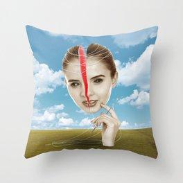Self Impress Throw Pillow