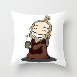 Uncle Iroh Throw Pillow