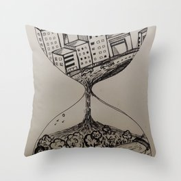 The positive side of lockdown Throw Pillow