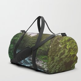 PNW River Run II - Pacific Northwest Nature Photography Duffle Bag