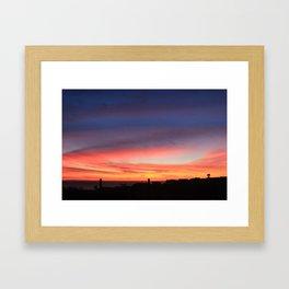 WINTER SUNSET SC #1 Framed Art Print