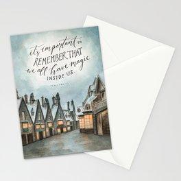 Hogsmeade - Magic Inside Us Stationery Cards