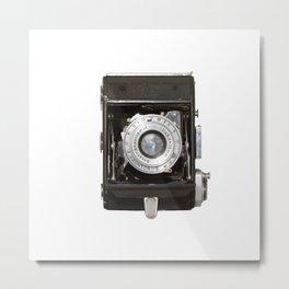 Old vintage camera 01 Metal Print