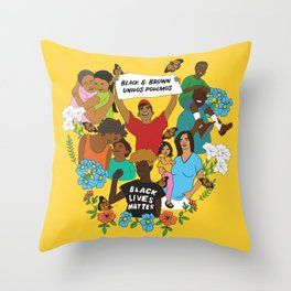 Diversity is Resistance Throw Pillow