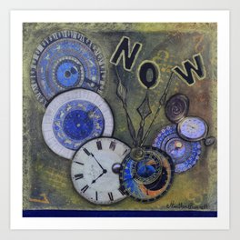 The Time is Always Now (or 11:11) Art Print