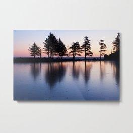 Winter Sunrise Photography Print Metal Print