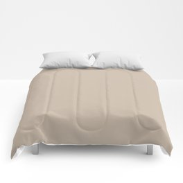 Sherwin Williams Trending Colors of 2019 Dhurrie Beige SW 7524 Solid Color Comforters