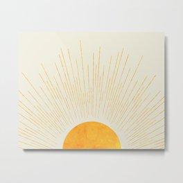 Boho Sunrise  Metal Print