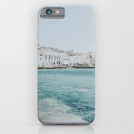 mykonos ii / greece iPhone Case