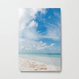 Florida Ocean View X Metal Print