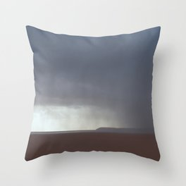 Come, Storm Throw Pillow