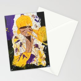 """I BLEED PURPLE AND GOLD"" Stationery Cards"