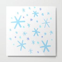Snow Flurry! Metal Print