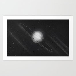 Planets lost in the vast of Space: 03 Art Print