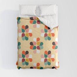 Retro geometry pattern no2 Comforters