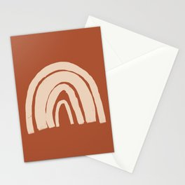 Terracotta Rainbow  Stationery Cards