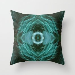 Abstract Colour Light 1454 Throw Pillow