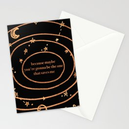 because maybe Stationery Cards
