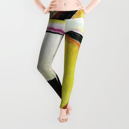 Abstract Head, Autumn and Dying - Digital Remastered Edition Leggings